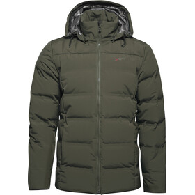 Yeti Akkarvik Chaqueta Bonded Down Hombre, wild forest